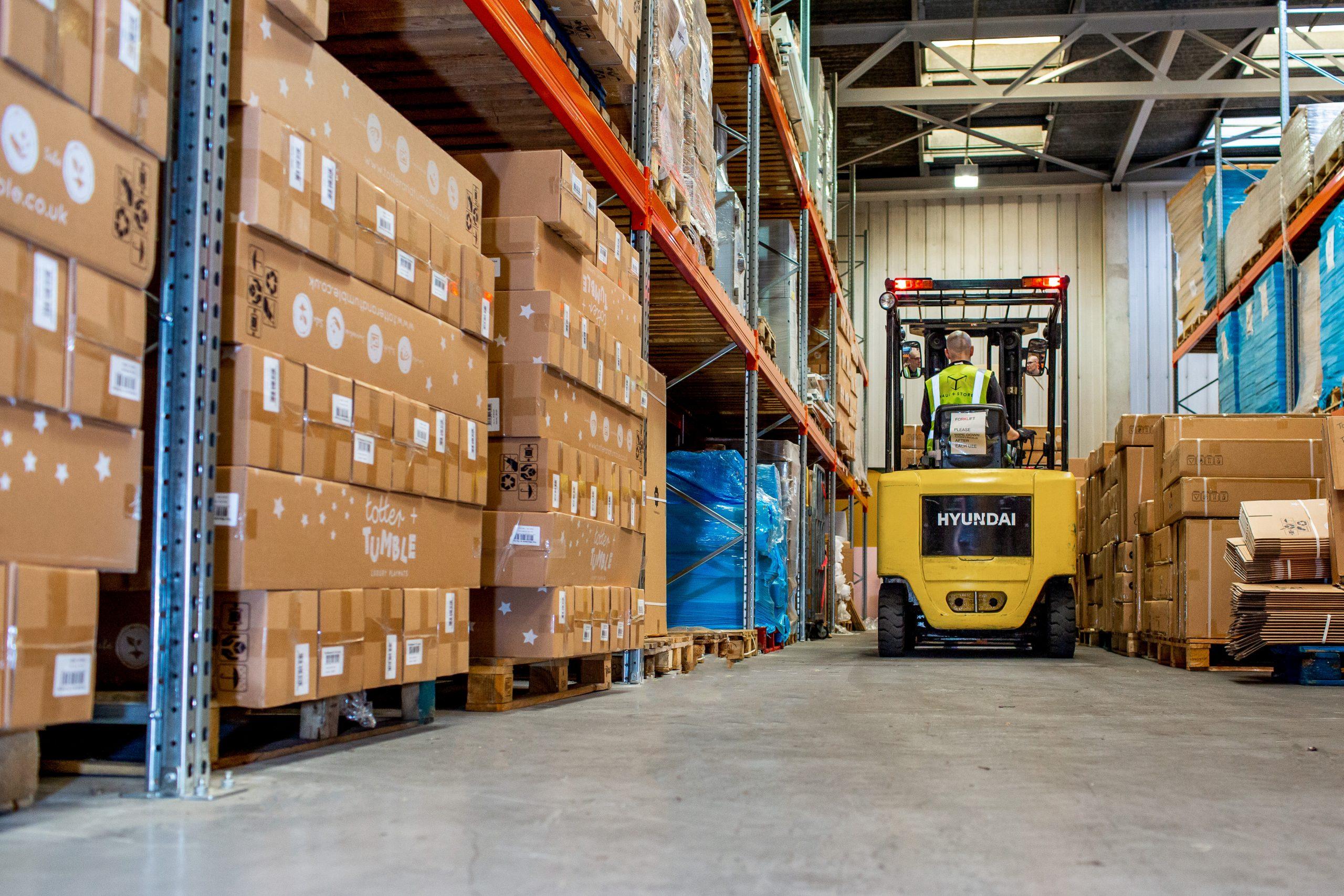 storage in a surrey warehouse